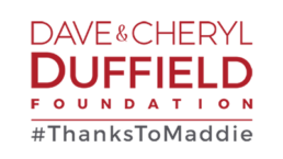 Logo for Dave & Cheryl Duffield Foundation #ThanksToMaddie