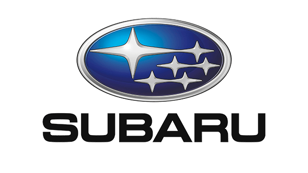 Blue subaru logo.