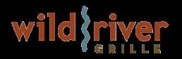 Logo for Wild River Grille restaraunt.
