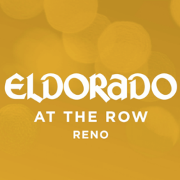 Logo for Eldorado Resort Casino, says