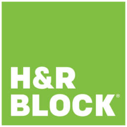 Green H&R Block Logo.