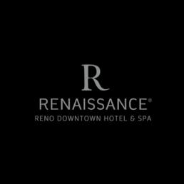Renaissance Reno Downtown Hotel and Spa logo.
